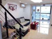 出租:宝龙广场 复式公寓 2室2厅1卫 2000月 直接拎包入