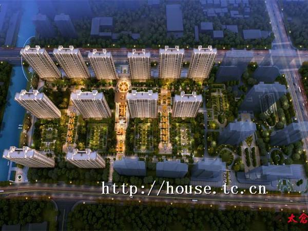 高爾夫鑫城 房東誠心出售 房東承擔稅費 開發商統一裝修