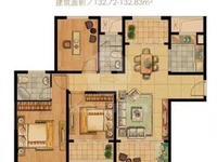 出售滨河雅苑134平米3室2厅2卫纯毛坯前后带阳台装修自由发挥175万