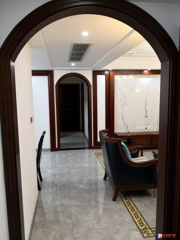 景瑞望府美式豪装四房带中央空调加车位首次出租,好楼层、景观房,看房方便