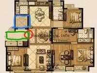城东 景瑞 望府145平 265万好楼层4开间朝南 4房2厅2卫有钥匙随时看