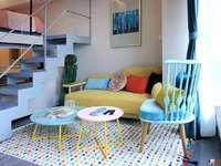 花样年幸福万象 复式挑高公寓房 统一豪华装修 72平 拎包入住随时看房