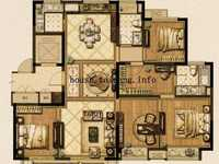 景瑞望府5期148平新毛坯4房2厅2卫四间朝南仅售233万别错过有钥匙