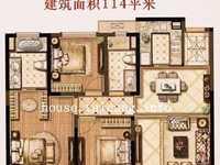 出售望府148平,纯毛坯好楼层278万,4房小高层得房率高。户型方正