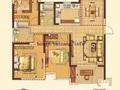 雨润117平三开间朝南、南北通透三房两卫纯毛坯抛售,户型方正、看房方便