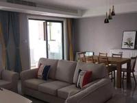 出租景瑞荣御蓝湾3室2厅2卫142平米7500元/月,未住过,看房方便
