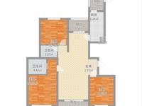 华源上海城三期3室2厅2卫138平米210万,三开间朝南南北通透,看房方便