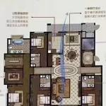 南郊大面积 上海公馆275平好楼层5室2厅4卫545万毛坯 没有税费 真实房