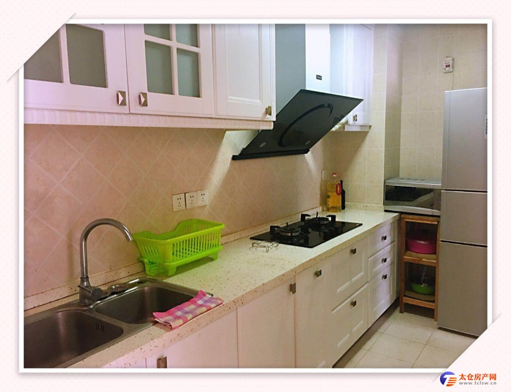 出租绿地城3室2厅1卫3200元/月带车位包物业住宅