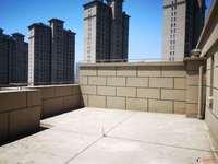 雅鹿臻园 上叠加 带电梯205平 100平大露台 纯毛坯 满两年 看房有钥匙