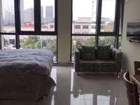 万达公寓包 物业包宽带 全套精装 看房方便 拎包入住