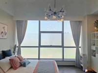 太仓万达旁 精装公寓 复式挑高4.5米 景观房 买一得二